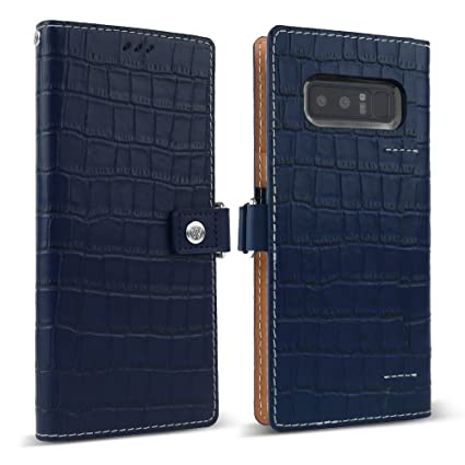 Amazon.com: Galaxy Note 8 Funda de piel, designskin [Epi ...