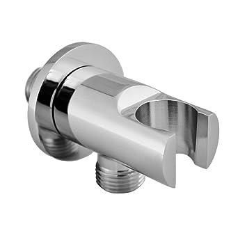 Wandanschlussbogen Wandanschluss für den Duschschlauch mit Duschkopf Halterung