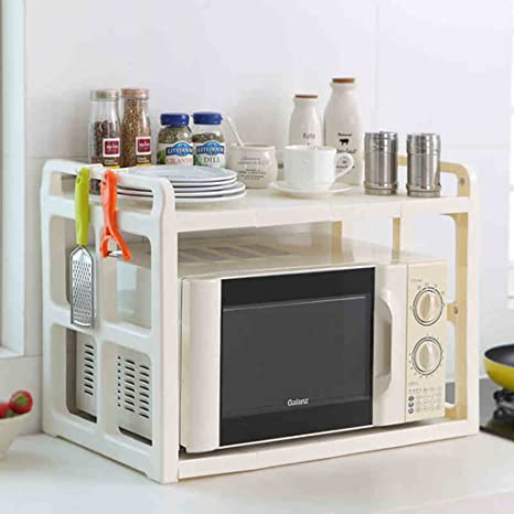 Mobili da cucina Cucina in acciaio inox Mensola Forno a microonde ...