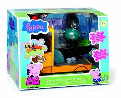 Giochi Preziosi Peppa Pig The Dog Grandpa Tow Amazon Es