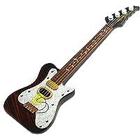 Gosear Mini plástico 4 Cuerdas Guitarra Simulación Ukelele Niños bebé Sabiduría educativa Desarrollo Regalo Niños Instrumento Musical del Juguete Moda Estilo Pop