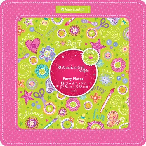 Girl Party Plates - 6