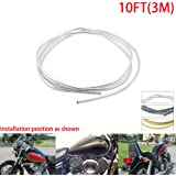 Motorcycle Gas Tank Fenders Windshield Edge Protection 6ft Roll Chrome Trim