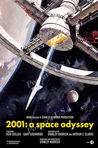 Posters USA - 2001 A Space Odyssey Movie Poster GLOSSY FINIS