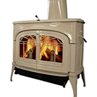 Vermont Castings ENCORE 2N1 WOOD STOVE CLASSIC BLACK (BISCUIT)