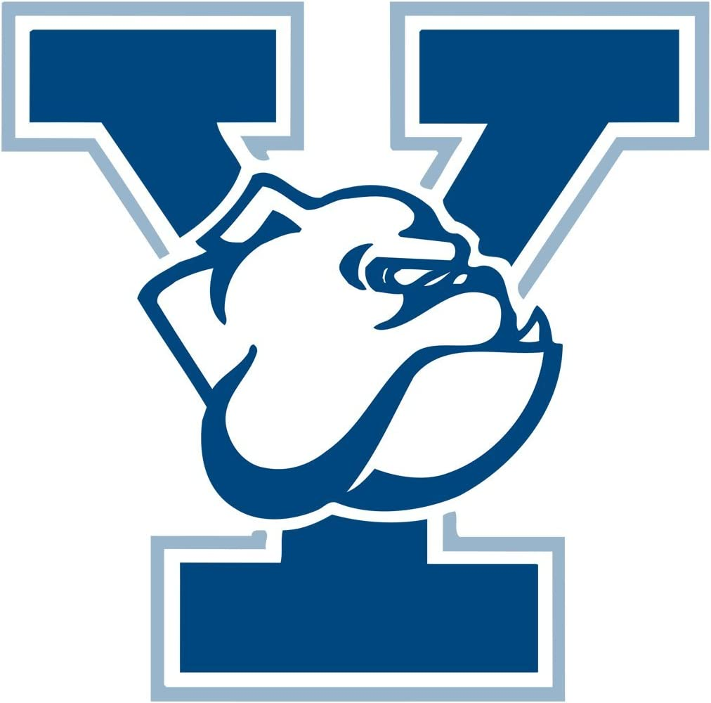 Yale University Logo OriginalStickers0882 Set of Two (2X) Stickers , Laptop , Ipad , Car , Truck , Size 4 inches on Longer Side