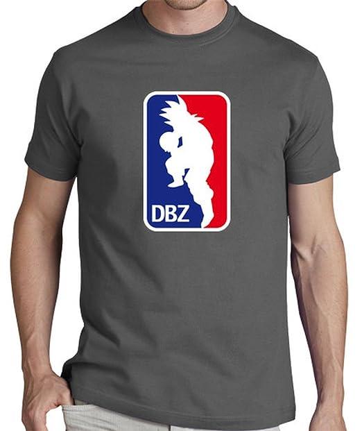 LaTostadora Camiseta NBA - Camiseta hombre clásica, calidad premium Gris ratón Talla S