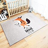 RuiHome Children Baby Crawling Carpet Nursery Rug Kids Play Mat for Bedroom Living Room Playroom, 39x59''