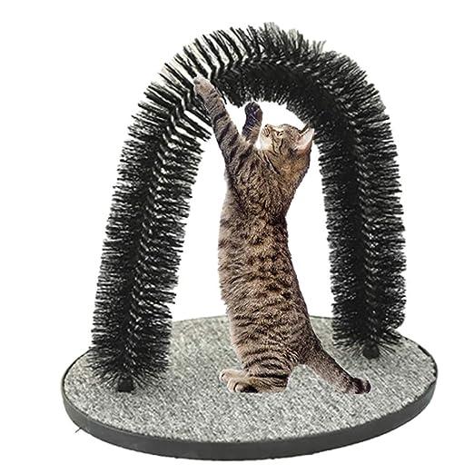 Juguete Para Gatos, Gato Suave Para Mascotas Arco Para El Aseo ...