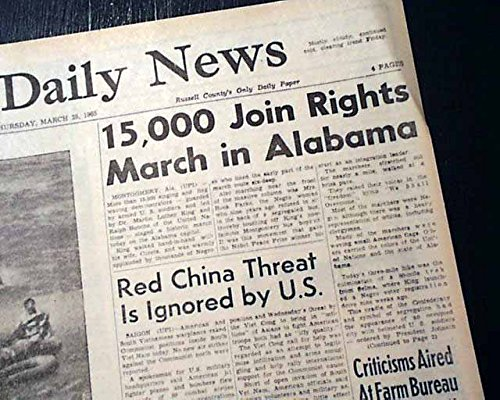 SELMA to MONTGOMERY AL Alabama w/ Rosa Parks MARCH Ends