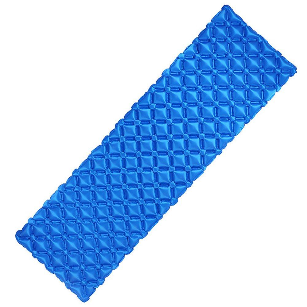 HPLL Aufblasbare Bett Airbag Aufblasbare Bett Einzelperson Zelt Luft Bett Outdoor Feuchtigkeits Pad Tragbare und Komfortable Isomatte (Farbe : A)
