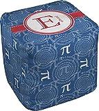 RNK Shops PI Cube Pouf Ottoman - 13'' (Personalized)