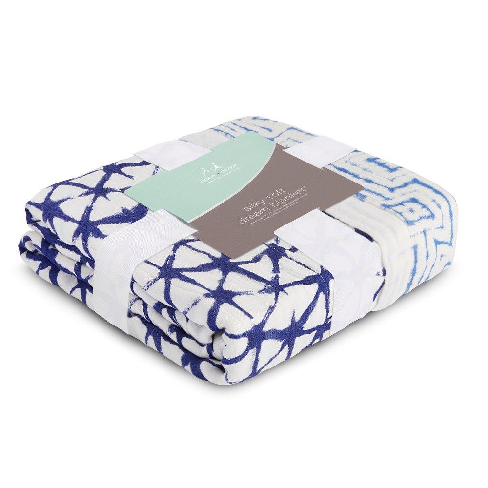 berry shibori aden anais silky soft dream blanket