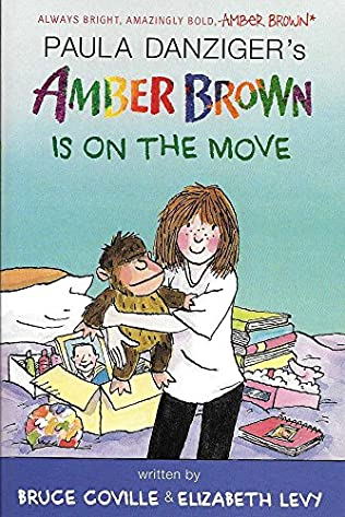 book cover of Amber Brown Is on the Move