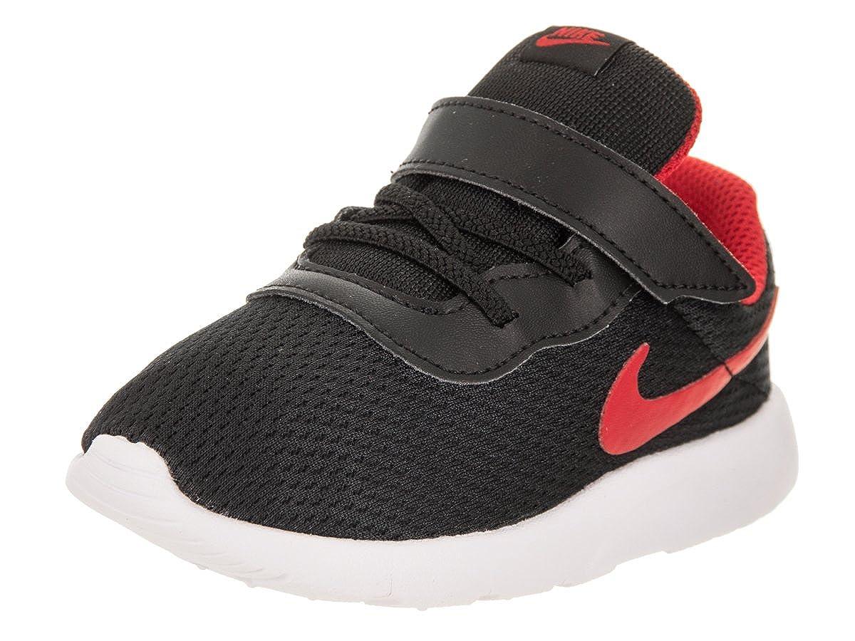 new product fca3d 17031 Amazon.com   NIKE Toddlers Tanjun (TDV) Black University Red White Running  Shoe 9 Infants US   Road Running