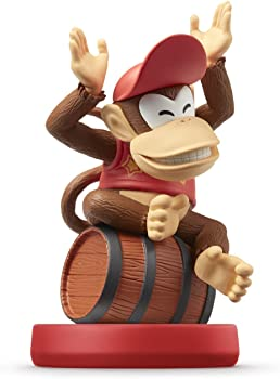 Diddy Kong Super Mario Bros Series Amiibo for Wii U