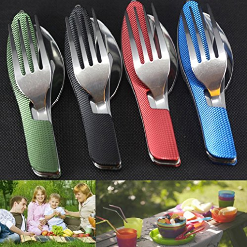 AMATM-Stainless-Steel-Multifunction-Pocket-Fork-Spoon-Diner-Set-Outdoor-3-in1-Folding-Spork-Travel-Camping-Tableware-Eating-Utensil-Tool-Kit