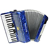 Excalibur Super Classic 60 Bass Piano Accordion - Pearl Dark Blue
