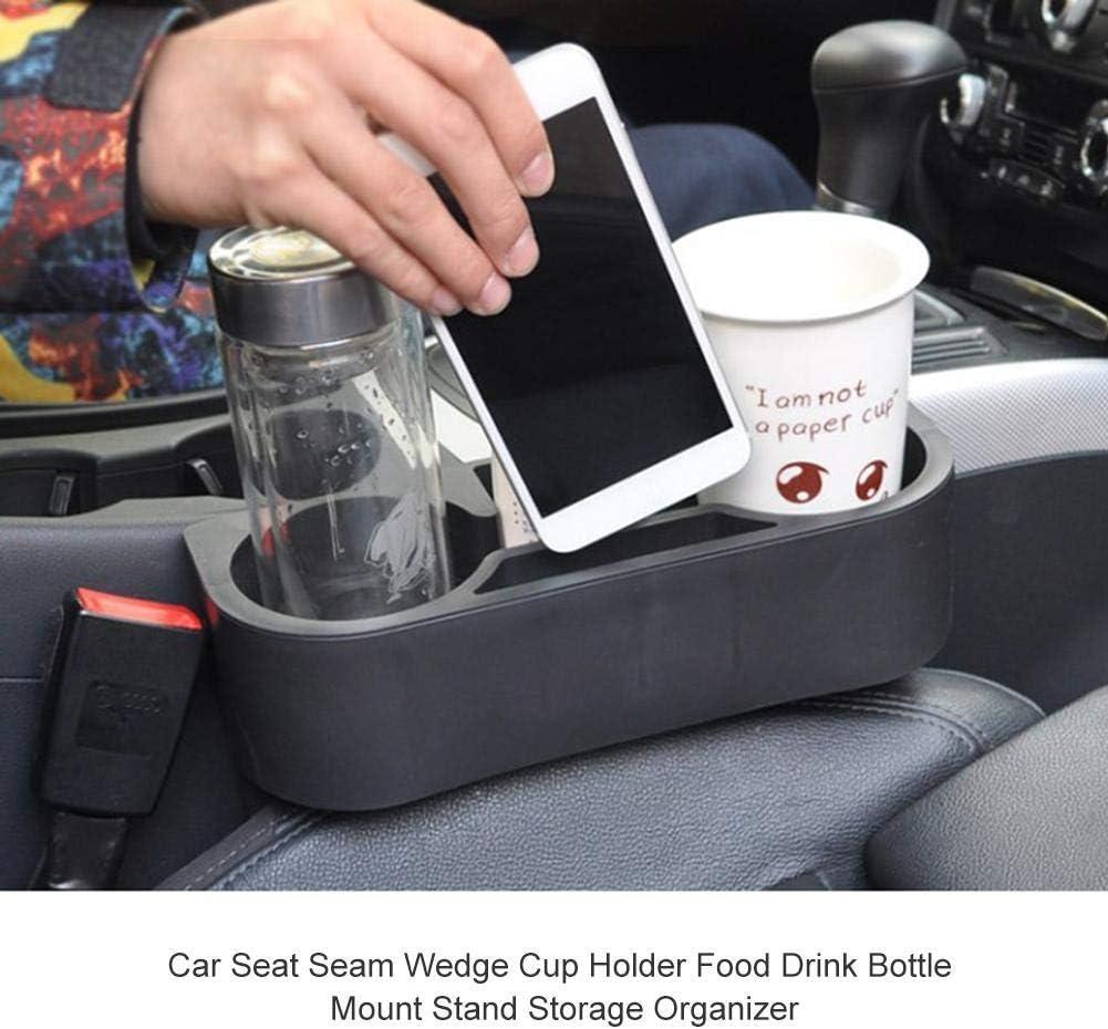 Dorime Auto-Auto-sitzseiten Cup-Halter-Speicher Trinkflasche Fahrzeug-Becher Halter-Standplatz F/ür Die Meisten Fahrzeugmodelle