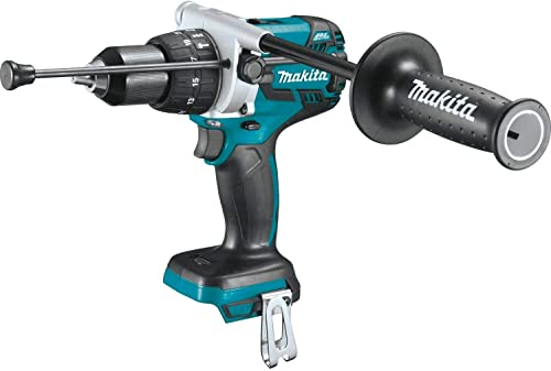 Makita XPH07Z 18V LXT Lithium-Ion Brushless Cordless 1 2 Hammer Driver-Drill, Tool Only Renewed
