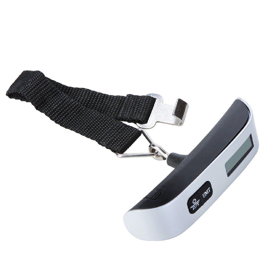 50kg/50g électronique numérique portable bagages Valise Sac de voyage à suspendre Poids balance de bagages multi-usage Luwu-Store TRTA11A