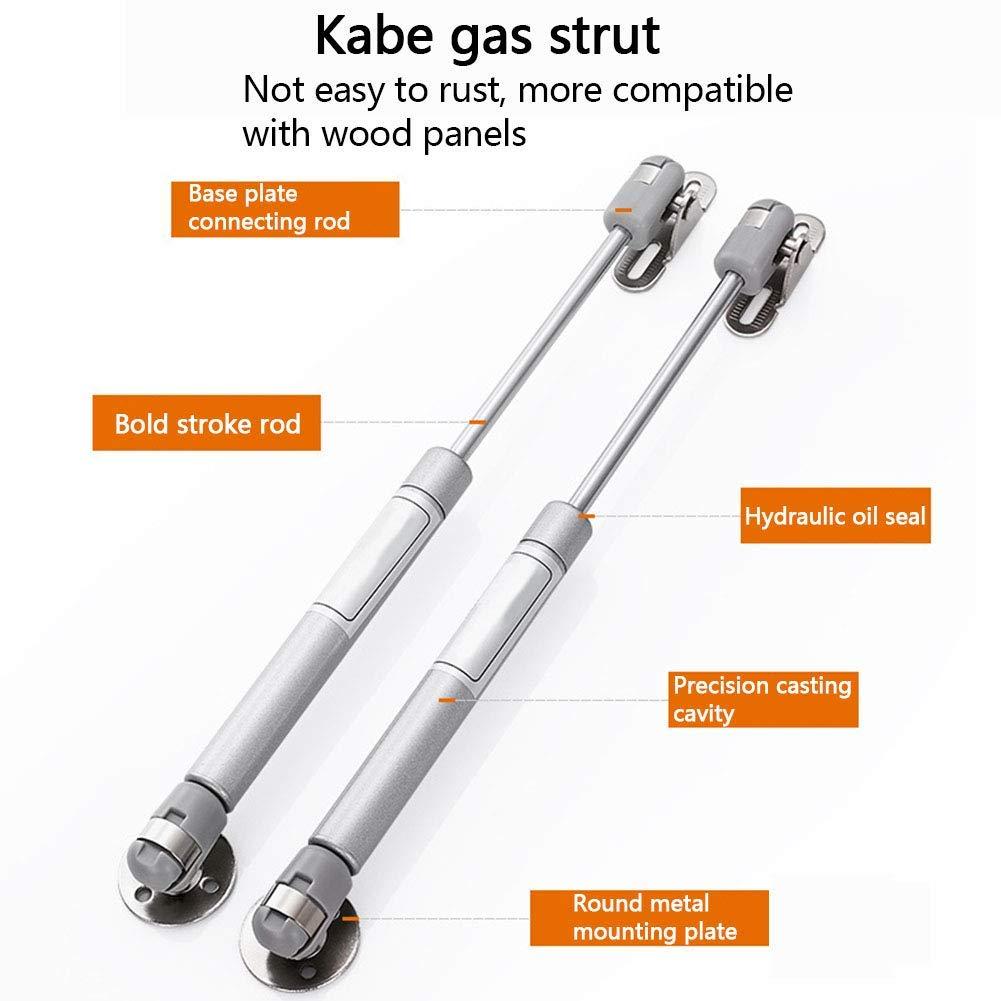 4 x Amortiguadores de Gas Resorte de Compresi/ón para Puerta del Armario BESTZY Hidraulico Amortiguador de Gas Potencia de 100N// 10kg,Piston de Gas Para Muebles de Cocina