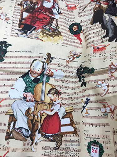 tton Fabric by the YARD (Scenes Cotton Fabric)