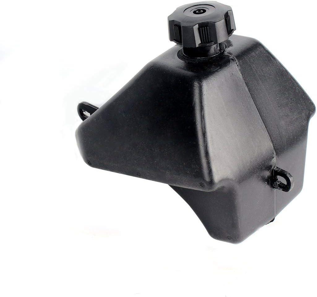 nbvmngjhjlkjlUK ATV de Alta Capacidad Gasolina Gasolina Tanque de Combustible Negro Tapa de Combustible 50cc 90cc 110cc para ATV Chino para Quad 4 Wheeler para Hummer ATV Buggy