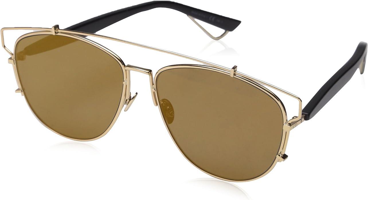 a1361966146 Amazon.com  Christian Dior Technologic Sunglasses Gold Aviator  Dior   Clothing
