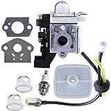 HIPA Carburetor with Repower Maintenance Kit for ECHO GT225 GT225i GT225L PAS225 PE225 PPF225 SHC225 SRM225 SRM225U Trimmer