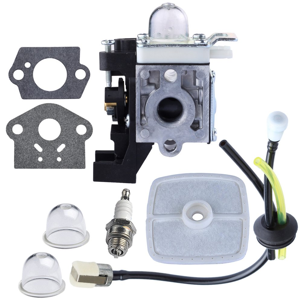 HIPA Carburetor with Repower Maintenance Kit for Echo GT225 GT225i GT225L PAS225 PE225 PPF225 SHC225 SRM225 SRM225U Trimmer by HIPA