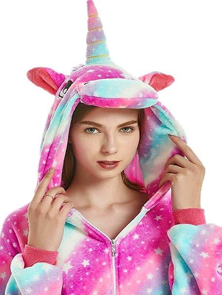 Amazon.com: Pijama de forro polar para mujer, adulto, animal ...