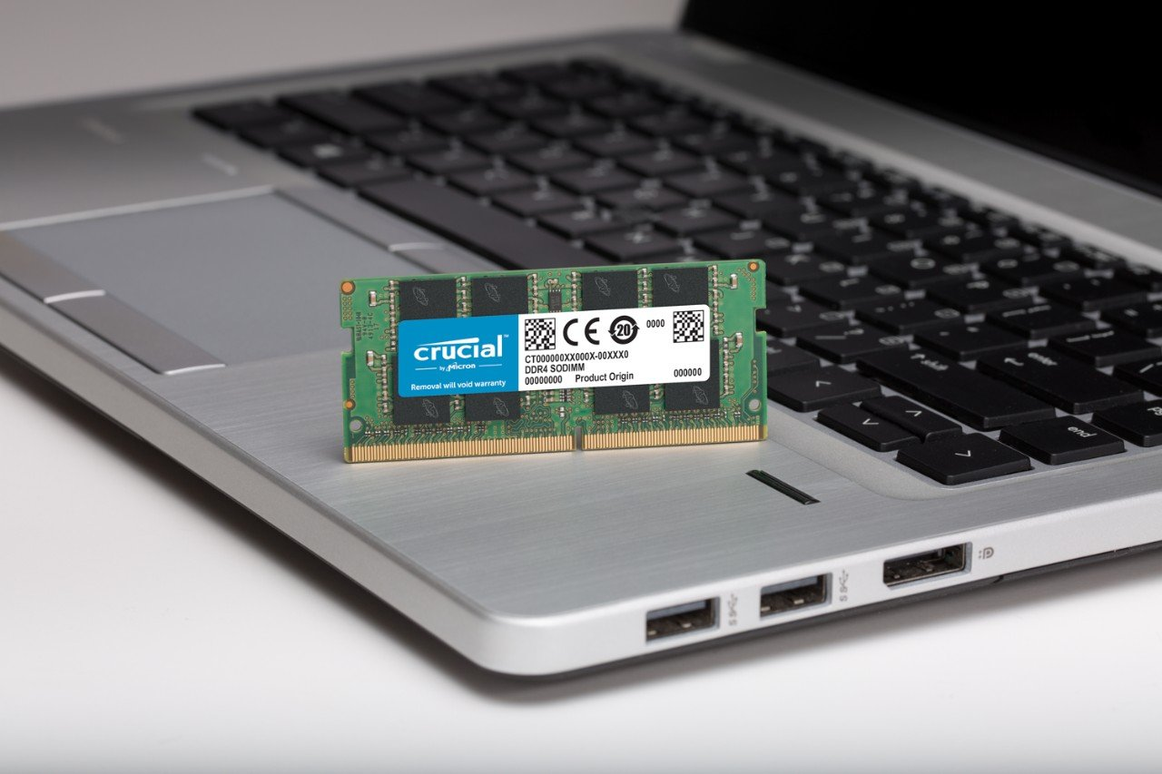 Crucial 16GB Kit (8GBx2) DDR4 2400 MT/s (PC4-19200) DR x8 Unbuffered SODIMM 260-Pin Memory - CT2K8G4SFD824A by Crucial (Image #4)