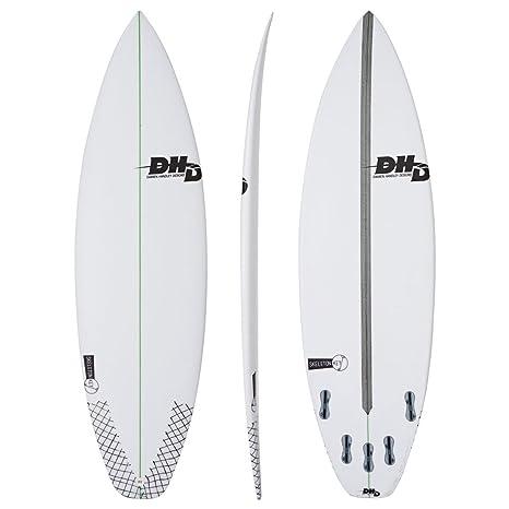 Tabla de surf de esqueleto DHD - llaves blanco Blanco blanco Talla:5ft 10