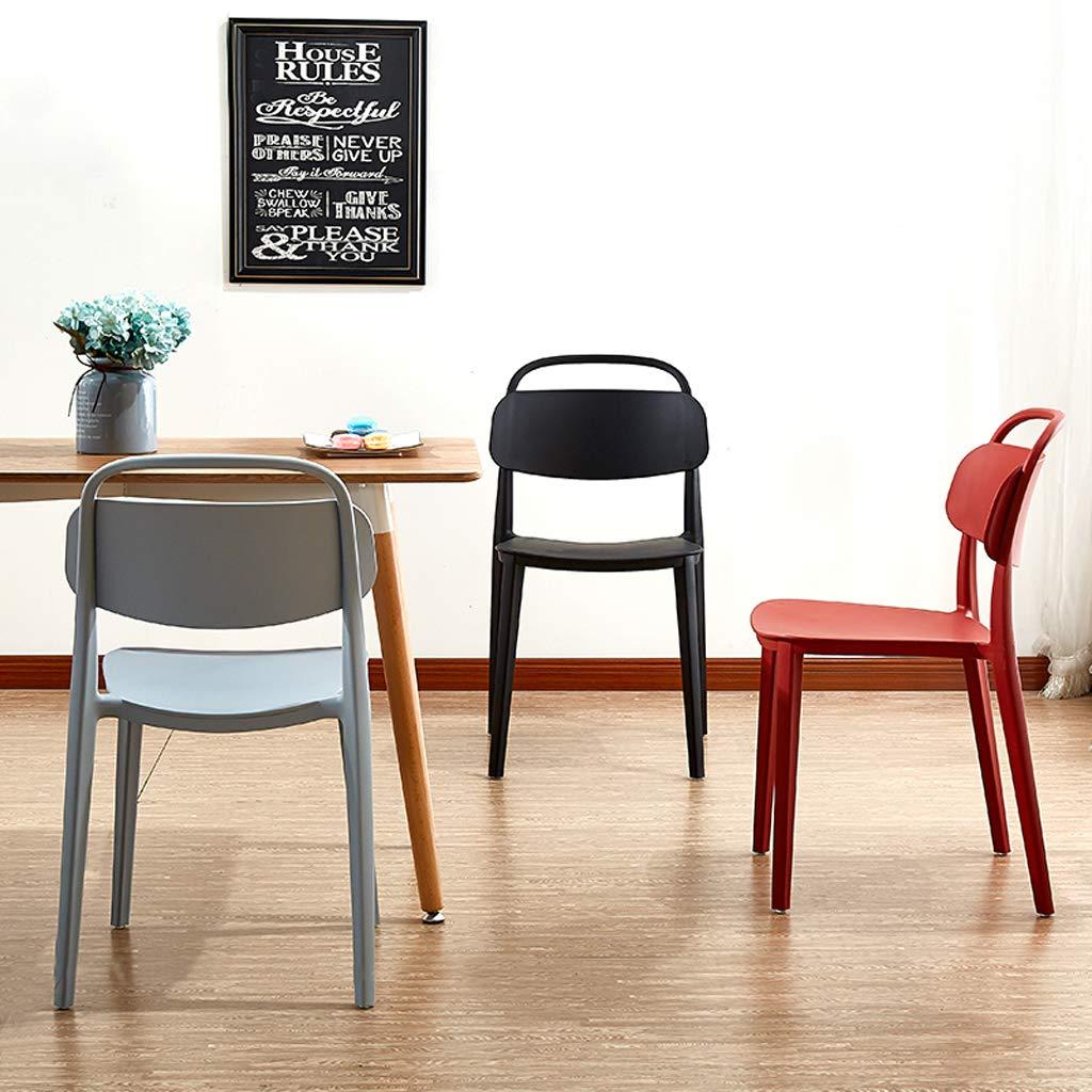 Amazon.com: Silla de comedor Lxn diseño moderno simplicidad ...