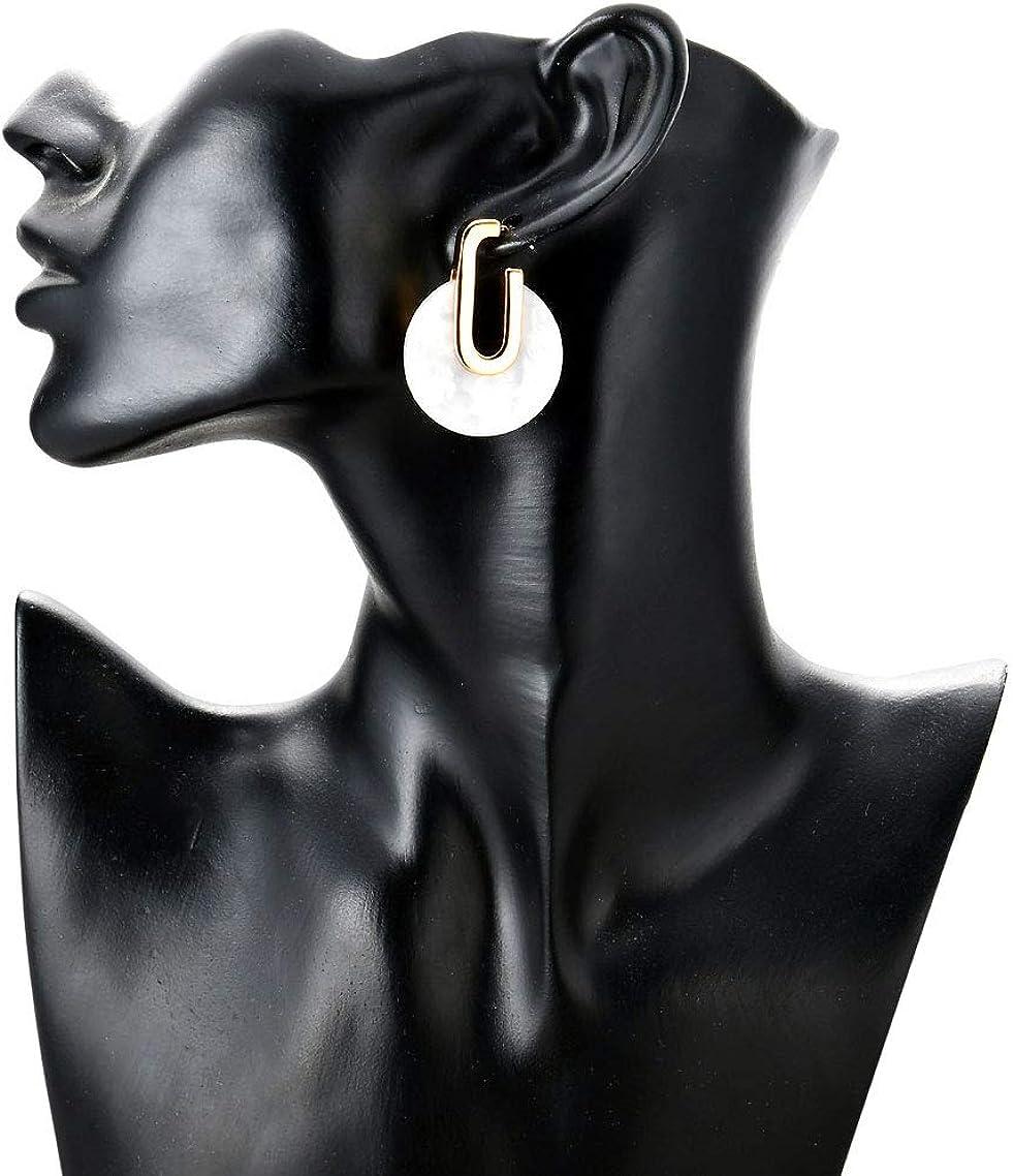 JHWZAIY Silver Small Thin Lightweight Hoop Cubic Zirconia Cuff Earrings Huggie Stud