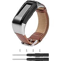 Chofit Ersatz-Armband für Garmin Vivosmart HR Plus, Premium-Leder-Armband für Vivosmart HR+/Approach X10 & X40, Nicht für vivosmart HR