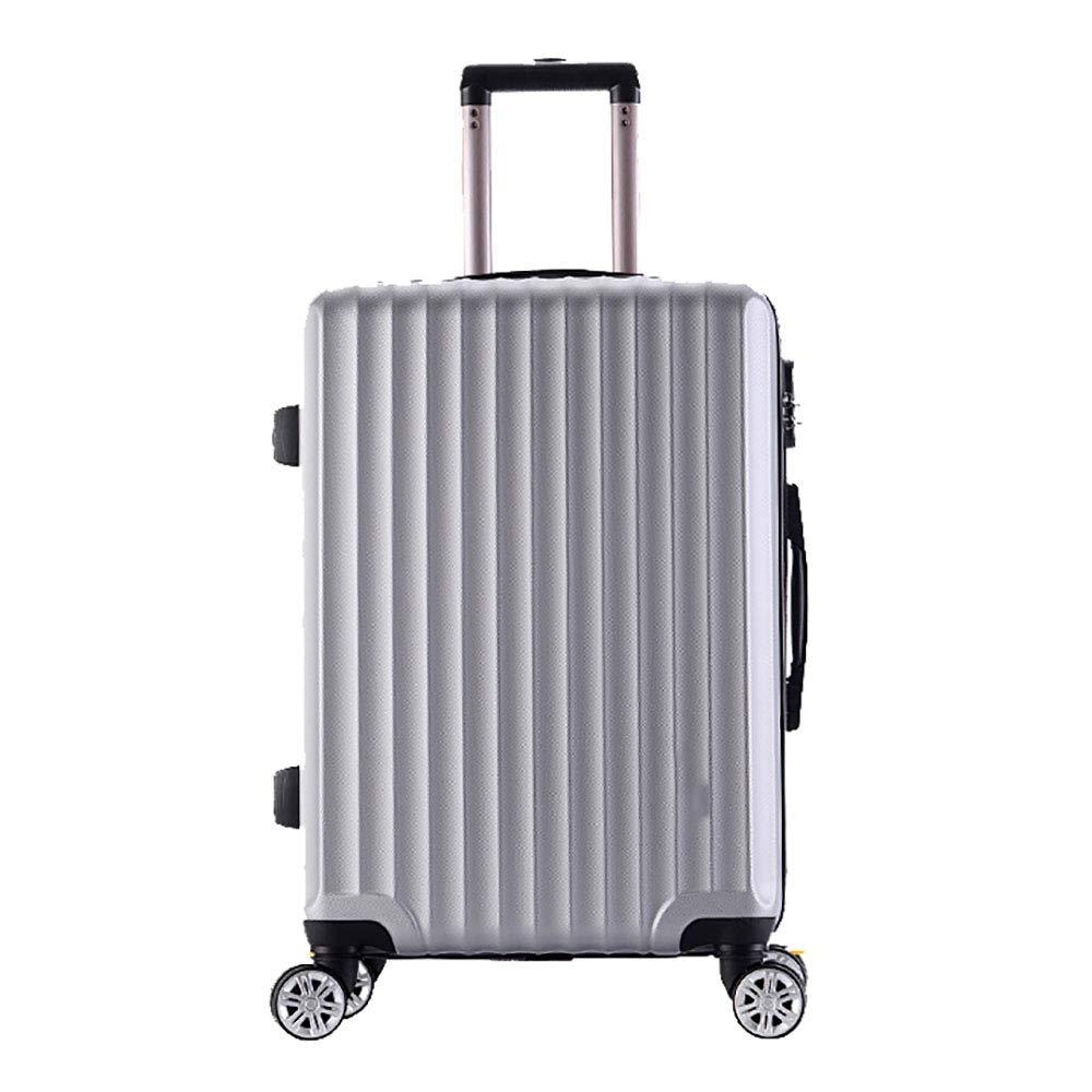 トローリー荷物ユニバーサルホイールスーツケース荷物のスーツケース搭乗ボックスの潮の男性と女性20インチグレー55 * 23 * 33CM B07KR9TCQ8