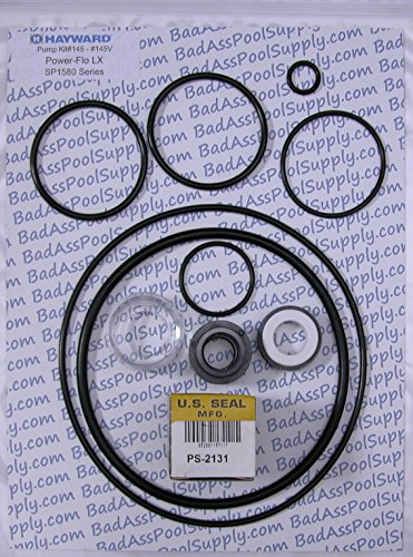 (Compatible with Hayward Power-Flo LX, SP1580 Series Pump O-Ring Rebuild Kit)