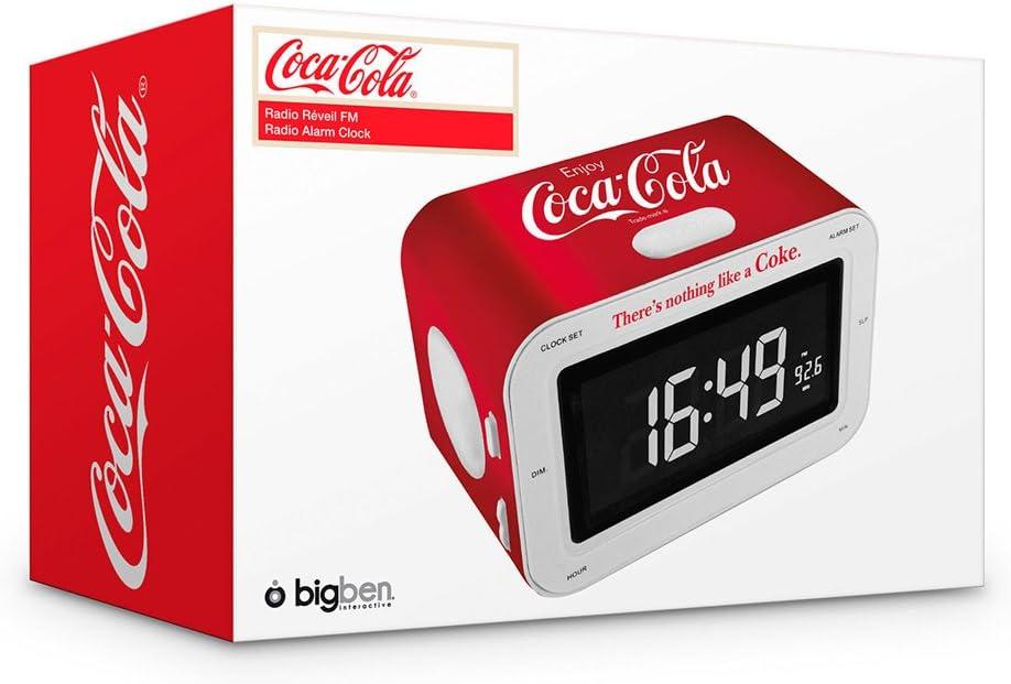 BigBen COCA RR30 2B Radio Reveil FM Coca Cola
