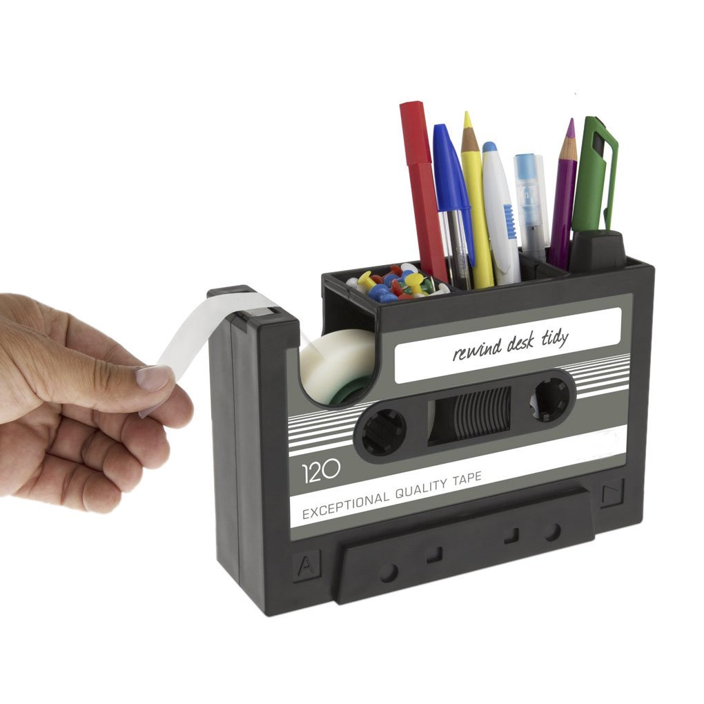 creative tape design desktop Pen Holder dispenser nastro adesivo decorativo da scrivania organizer Storage Case Office Stationary Collection Holder