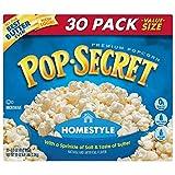 Pop Secret Microwave Popcorn, Homestyle, 30 Count Box