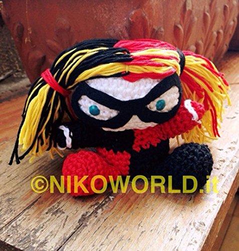 Tutorial Muñeca Crochet Harley Quinn - DC Super Hero Girls ... | 500x477