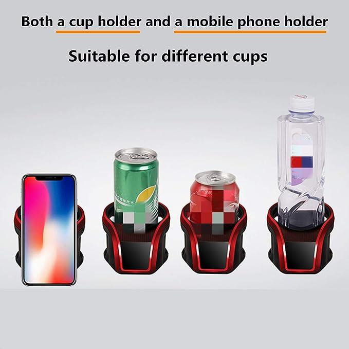 ben-gi Supporto Universale Automotive Drink Bottle Tazza di Acqua Organizzatore Auto per Tazza dellAcqua di Veicoli Car Holder Stand