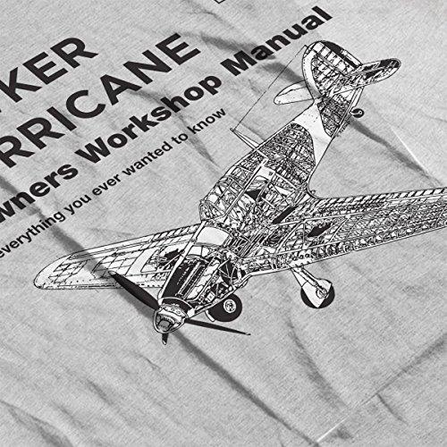 Haynes Owners Workshop Manual Hawker Hurricane VW Women's Vest