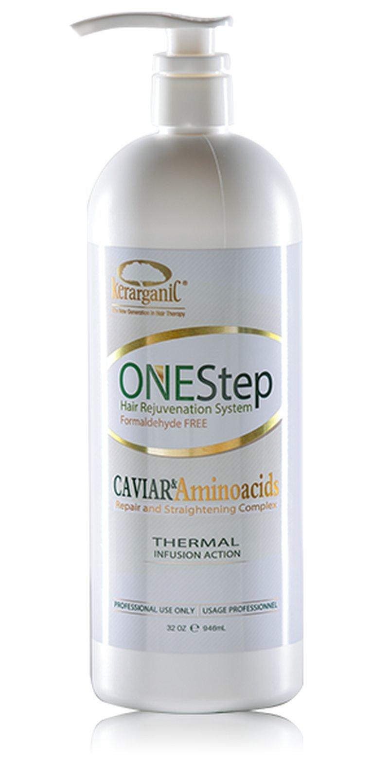 Kerarganic One Step Hair Rejuvination System Formaldehyde Free 32oz