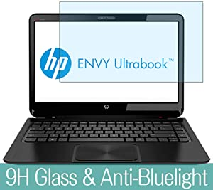 "Synvy Anti Blue Light Tempered Glass Screen Protector for HP Envy Sleekbook 4-1100 / 1110us / 1100se / 1104tx / 1117nr / 1130us / 1115dx 14"" Visible Area Screen Film Protectors"