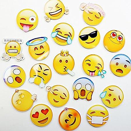 raleighsee 10 Pack Emoji frigorífico imanes de nevera magnético ...