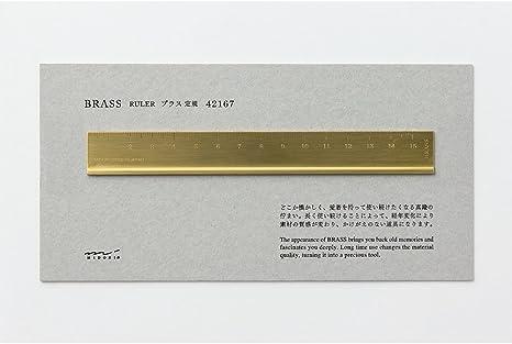 Midori Messing Lineal 42167006