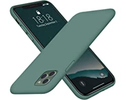 DTTO Compatible with iPhone 11 Pro Case, [Romance Series] Full Covered Silicone Cover [Enhanced Camera and Screen Protection]